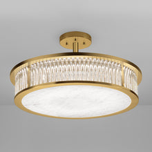 Medium Size Criterion Polished Brass Light - detail