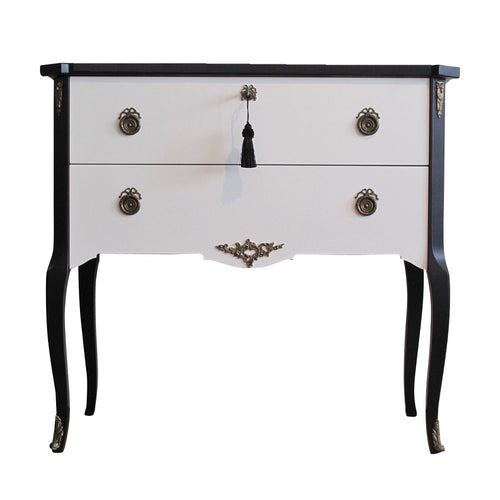 (206-1) Coco Chanel Gustavian Louis XV Style Chest (DaVinci)