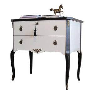 Coco Chanel Gustavian Louis XV Style Chest (DaVinci)