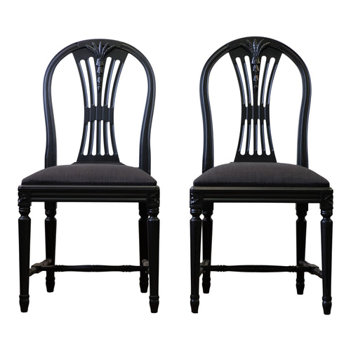 (110) Axet Chairs (Pair) (DaVinci)
