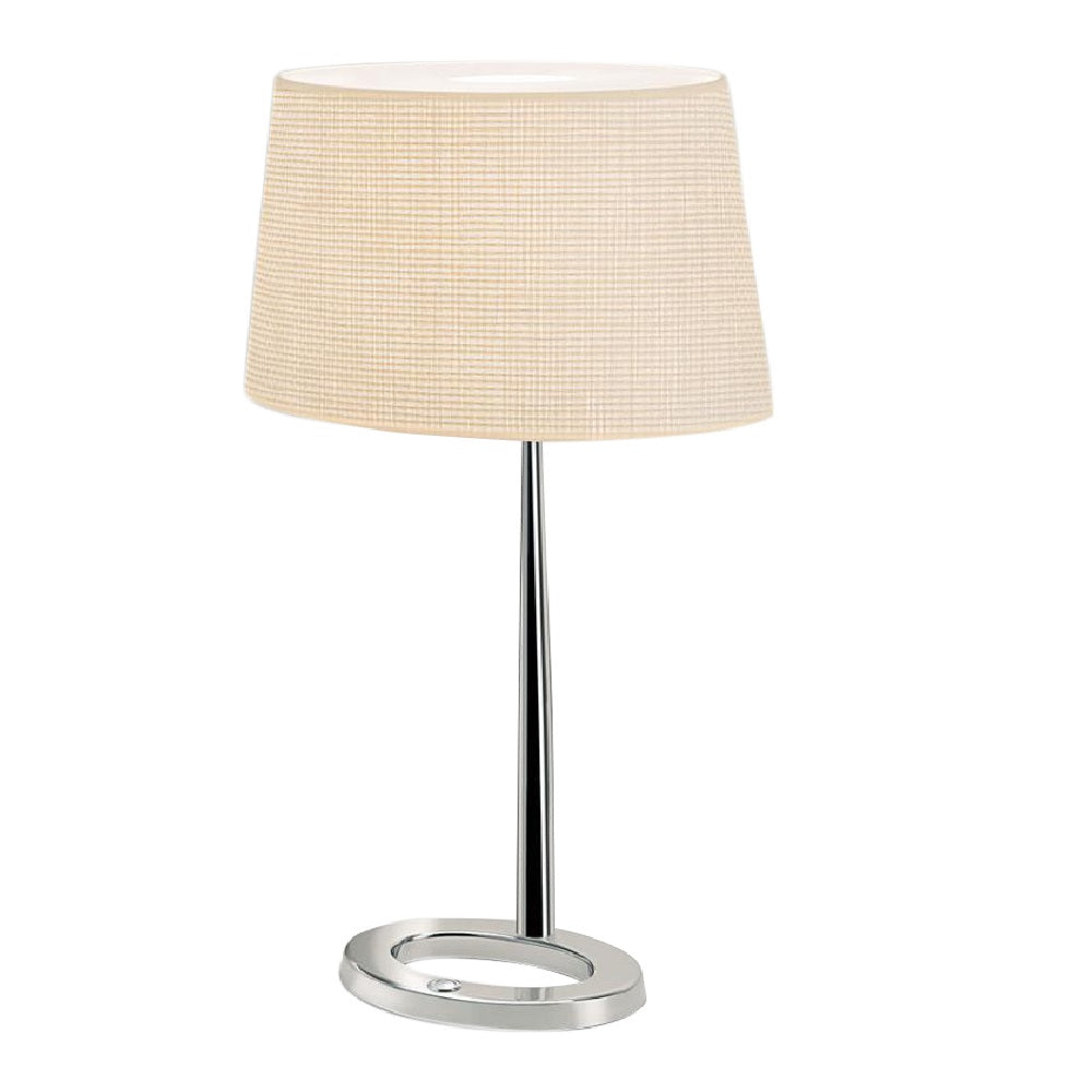 Exec Chrome Lamp With Shade
