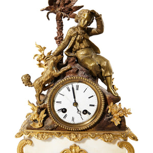 Japy Freres Mantel Clock - figure