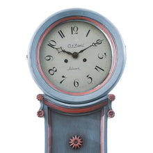 Blue Mora Clock - face