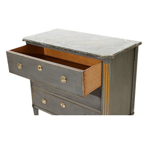 antique chest of drawers - drawers