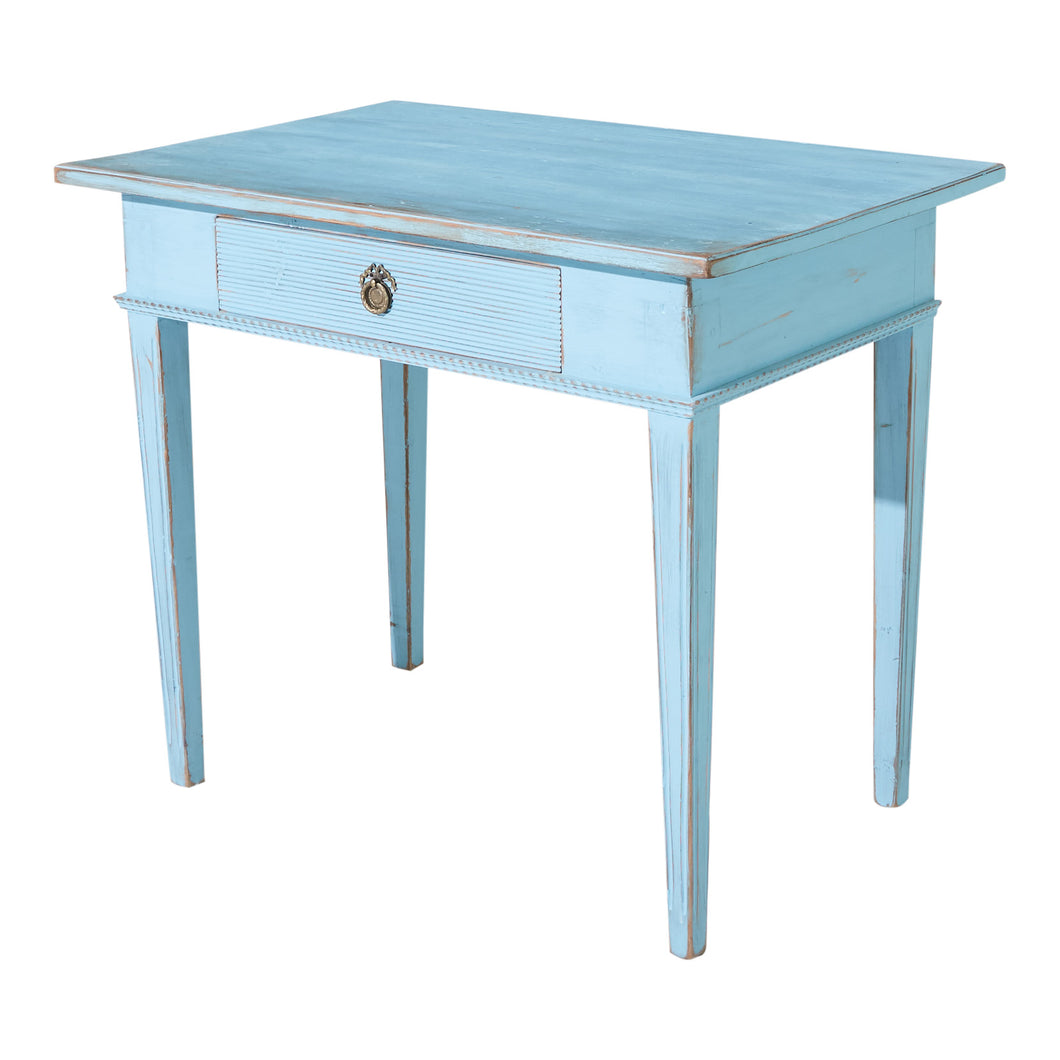 Gustavian painted desk