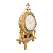 Gustavian wall clock - side