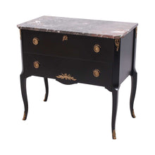Gustavian Commode with marble top