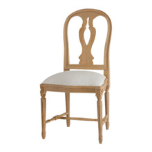 Lundberg Wooden Chair - carving
