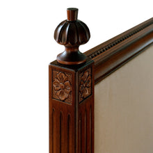 Classic Double Bed - finial detail