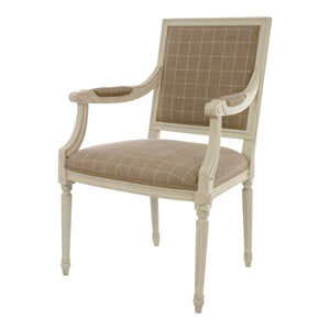 Kristian Birch Wood Armchair - side