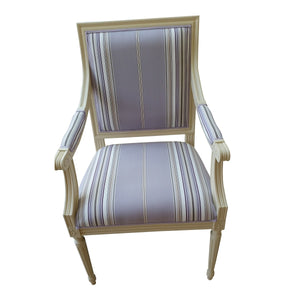 Kristian Birch Wood Armchair - top