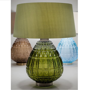 Laguna table lamp in olive colour - colours