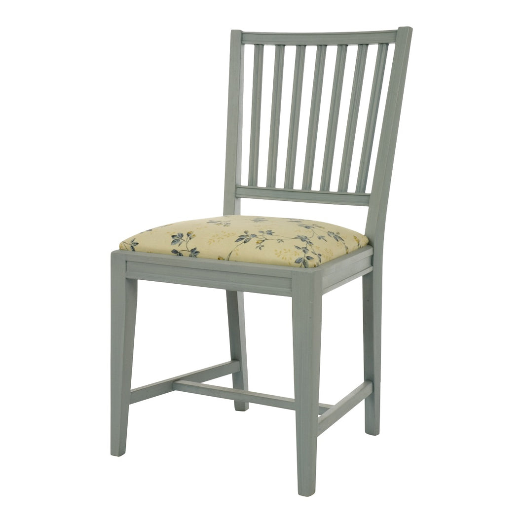 Leksand Wooden Chair with Upholstered Seat