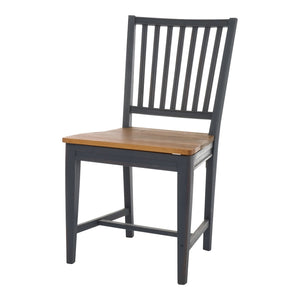 Leksand Chair with Wooden Seat