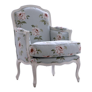 Louis XV Birch Wood Bergere - side
