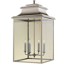 4 candle nickel lantern