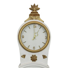 Swedish hand painted Mora Clock - face