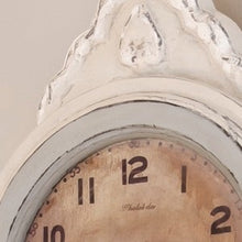 Mora Wall Clock Antique White - face detail
