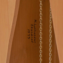 Mora clock unpainted - signature