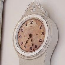 Mora Wall Clock Antique Grey - face detail