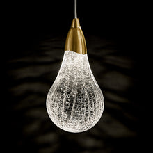 Single Pear Light - detail