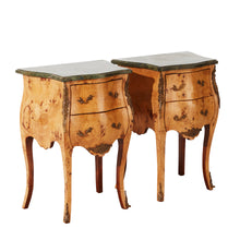 Rococo bedside tables (pair)