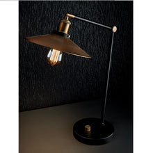 Radar desk lamp - at night