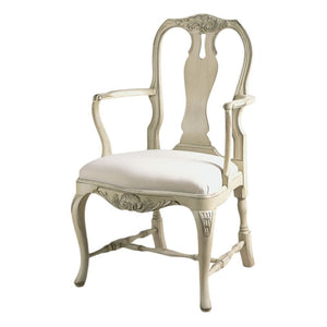 Rococo Wooden Armchair - painted
