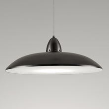 Black bronze saucer light - detail