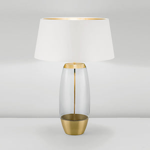 Stockholm Solid Brass Lamp With Glass - details
