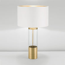 Stockholm Solid Brass Lamp With Glass - detail