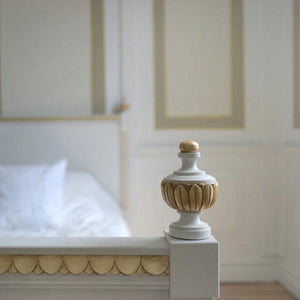 Stockholm Carved Headboard - finial
