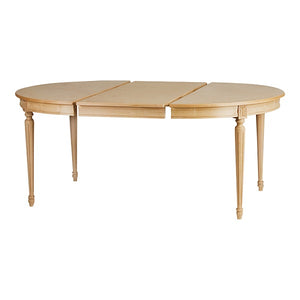 Bellman Dining Table with leaves - Natural Wood