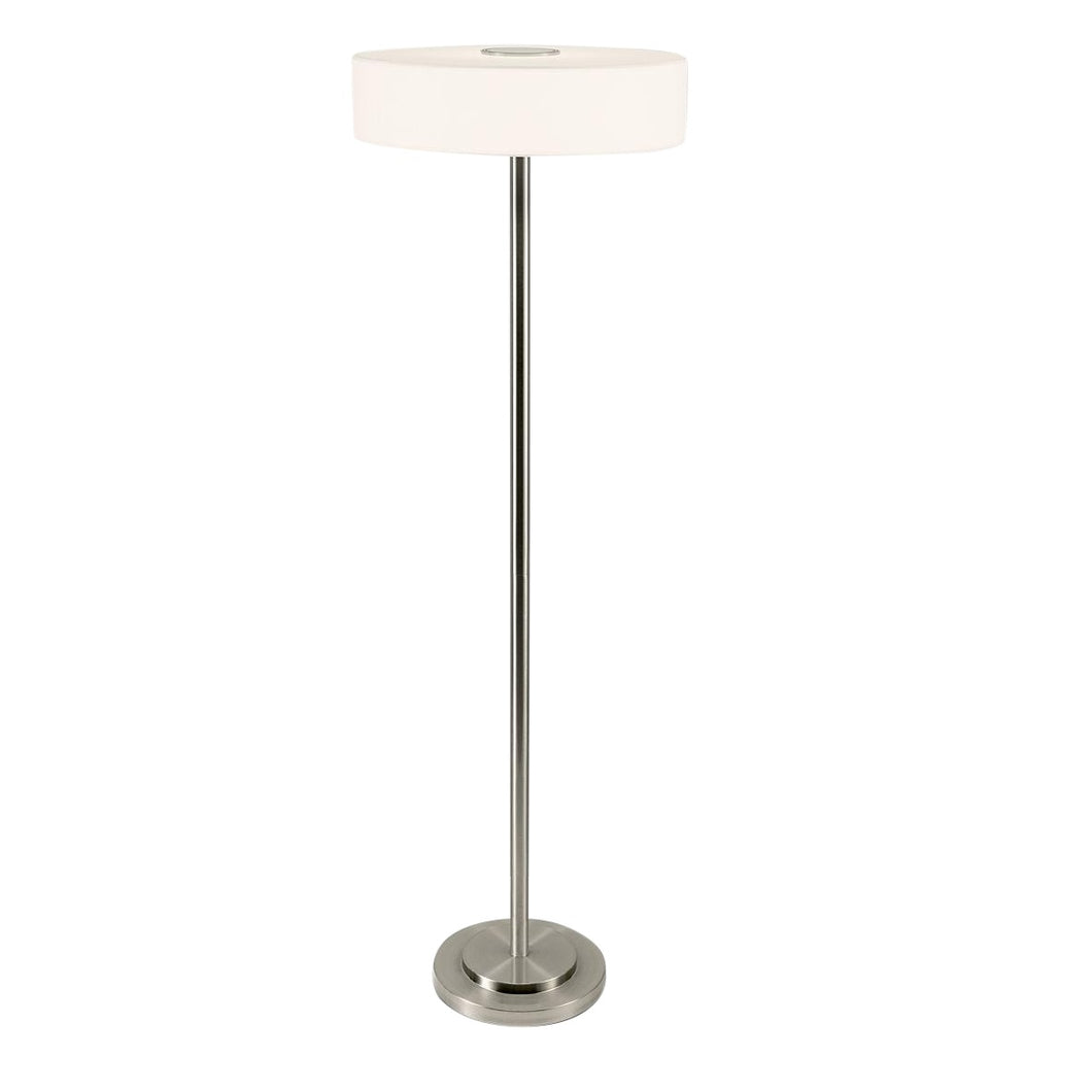 Richmond brushed nickel floor light