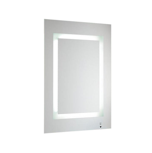 Bathroom Mirror With Lighting and Shaving Socket