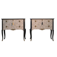 Brasilia Louis XV Style Chests (Pair) (DaVinci)