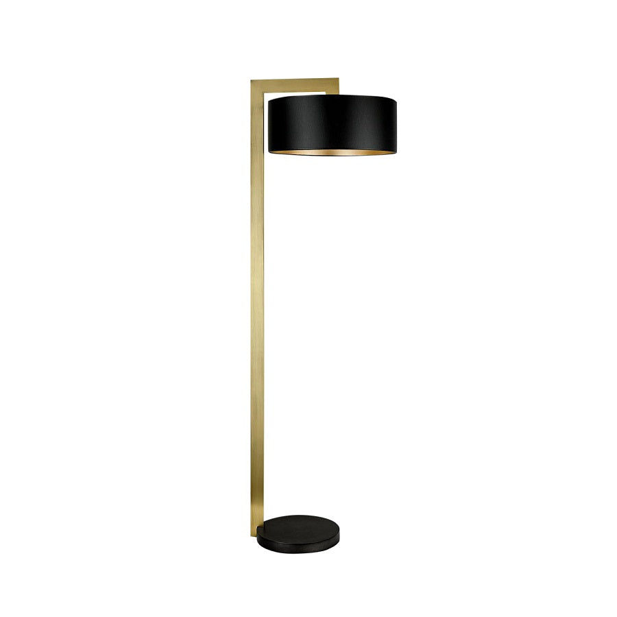 Chicago lamp in black bronze with English brass