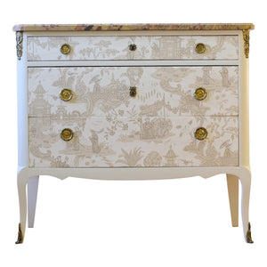 (106) Chinoiserie Chest (DaVinci)