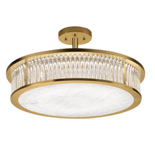 Medium Size Criterion Polished Brass Light