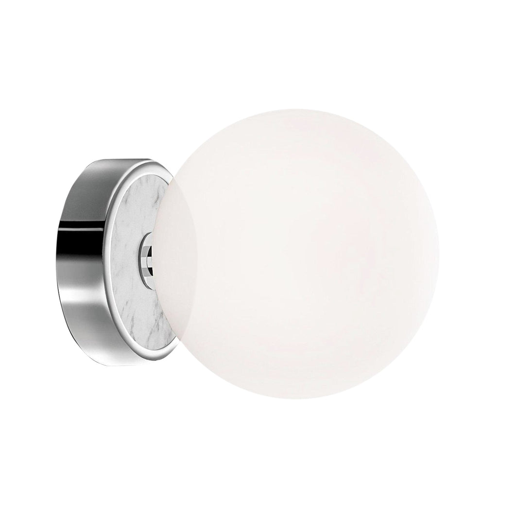 Deluxe Polished Chrome Bathroom Wall Light