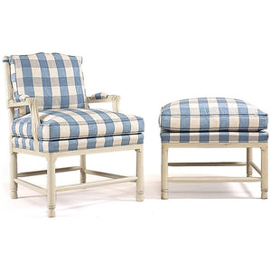 Gripsholm Birch Wood Armchair - chair & stool