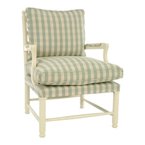 Gripsholm Birch Wood Armchair - painted