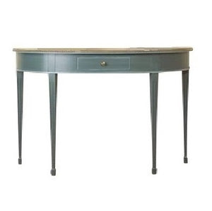 Gustavian half moon table
