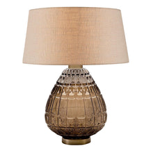 Laguna table lamp in mocca colour