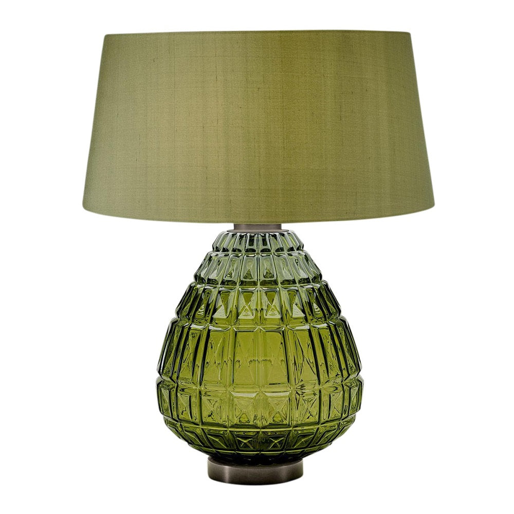 Laguna table lamp in olive colour