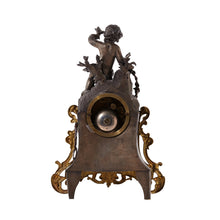 mantel clock - back