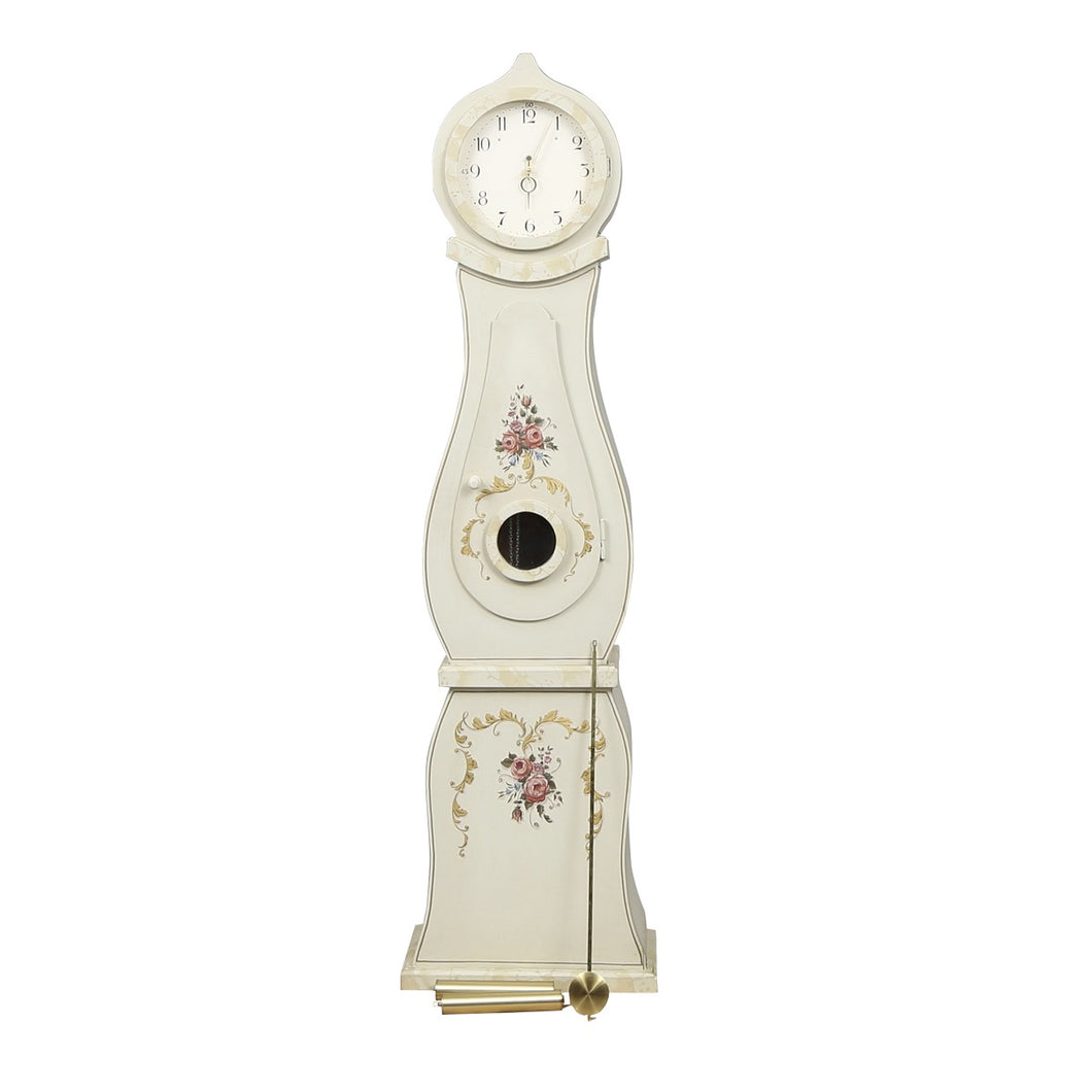 Swedish Mora Clock with Floral Patterns