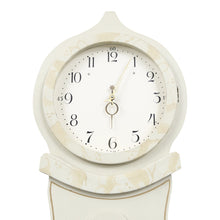 Swedish Mora Clock with Floral Patterns - face