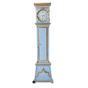 Mora clock in original blue paint