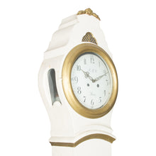Mora clock face with gold detailing